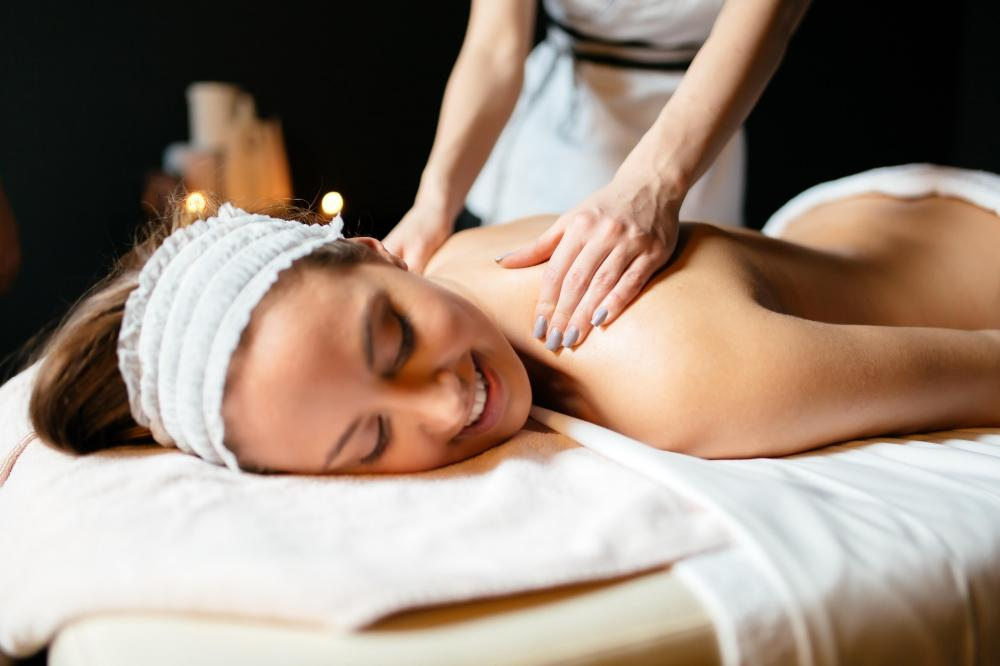 Relax with a massage during your holiday