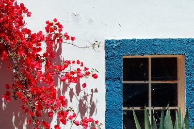 Casa Porta Azul B&B with colourful details