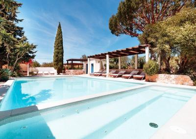 Heated pool B&B Casa Porta Azul Boliqueime Algarve